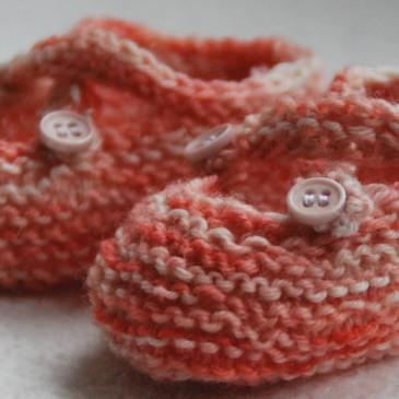 Saartjes Bootees – zuckersüße Babyschühchen