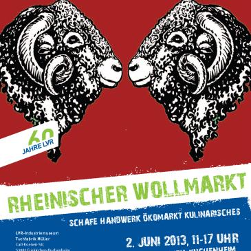 Rheinischer Wollmarkt 2013 in Euskirchen